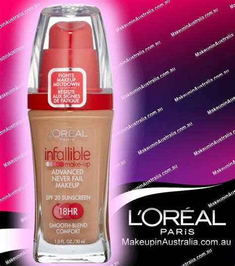 Foundation Loreal Infallible Liquid l oreal loreal infallible make up advanced never