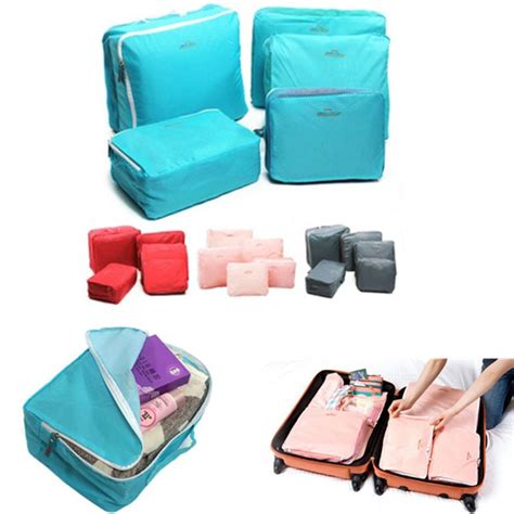 Storage Bag Organizer Bag Clothes Organizer 5pcs travel luggage storage bag clothes organizer handbag