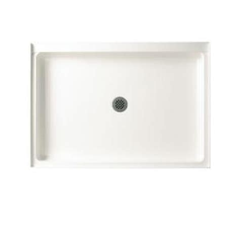 swan 32 in x 48 in fiberglass single threshold shower