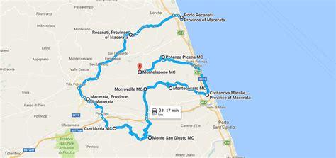 porto recanati provincia di le marche in cer itinerari nella provincia di macerata