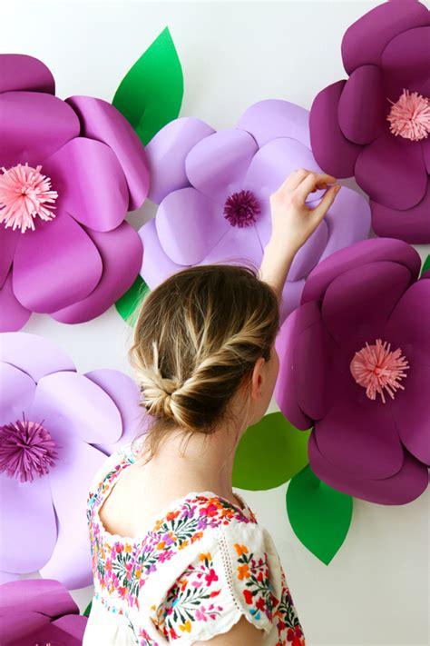 flores de papel xl handbox craft lovers comunidad diy