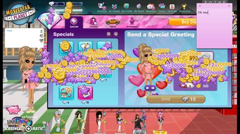how do you get diamonds on msp how to send greets on msp with no diamonds youtube