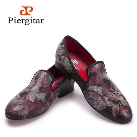 fashion flower pattern loafers insole and