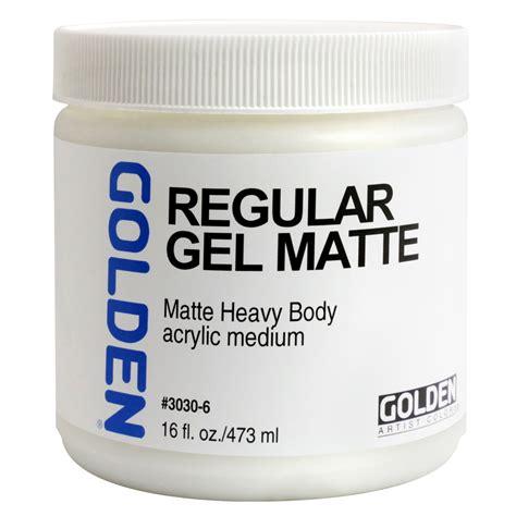 matte gel buy golden acryl med 16 oz regular gel matte