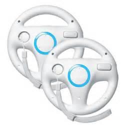 Steering Wheel For Mario Kart Wii 2x Mario Kart Racing Steering Wheel For Wii Nintendo
