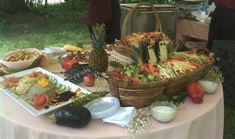 buffet displays food and photos gersky s catering event planning