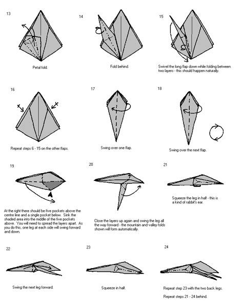 Easy Origami Spider - simple origami spider origami learn how to make