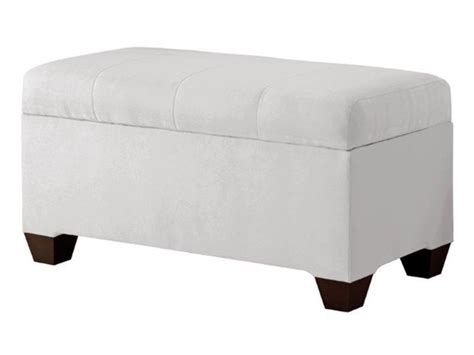 White Upholstered Storage Bench Blast From The Past Bench Seats Bench With Storage