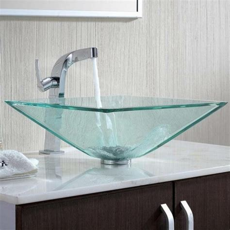 waschbecken aus glas designer waschbecken 45 kreative vorschl 228 ge