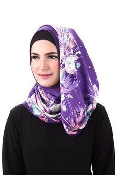 Stockig Bs1006pt 100 Original Import High Quality kerudung segi empat turkis printed import original branded