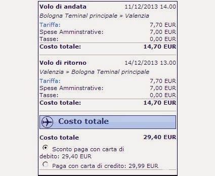 Voli Low Cost Calendario Offerte Ryanair Calendario 2014 E Volo A R A 30 Per Valencia