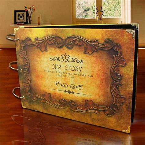 Handmade Wedding Photo Album - 8 style free ship 10 inch butterfly diy handmade