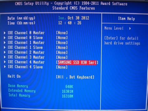 Pch Sata Control Mode - xpprosp3x32 auf i7 system