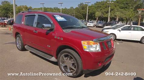 2008 Nissan Armada Reviews by Autoline Preowned 2008 Nissan Armada For Sale Used Walk