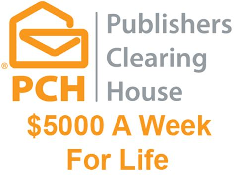 Pch 5 000 A Week For Life - www pch com 5000 a week for life for yourself and someone you designate in the