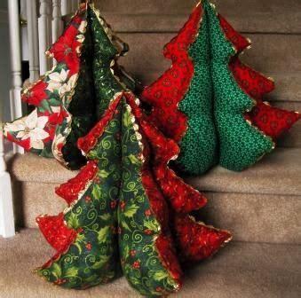 stuffed christmas tree sewing pattern stuffed by love these stuffed fabric christmas trees hopefully will