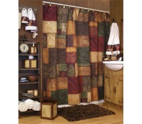 adirondack shower curtain adirondack pine shower curtain and bath accessories