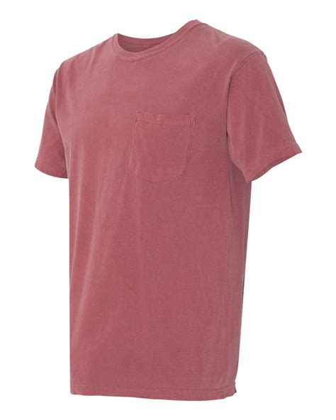color t shirts comfort colors mens pigment dyed sleeve shirt with a