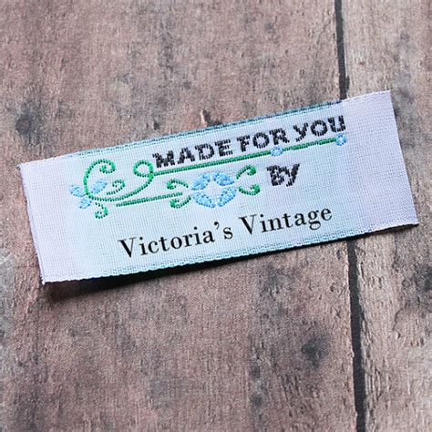 Personalized Sewing Labels Handmade - personalized sewing labels custom labels vintage labels