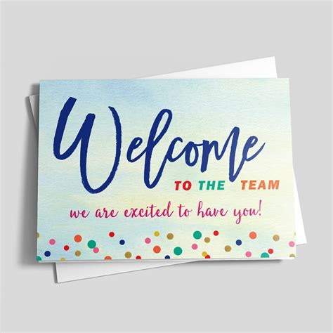 Watercolor Welcome Welcome By Brookhollow Welcome New Employee Sign Template