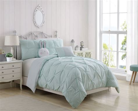 mint twin bedding monica mint gray comforter set
