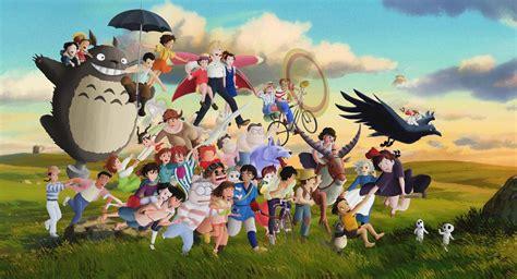 film manga ghibli studio ghibli characters by ficklestix on deviantart