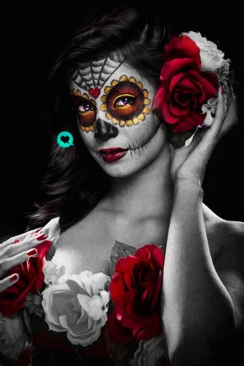 imagenes de catrina halloween catrina by jesus bonaguro advanced photoshop