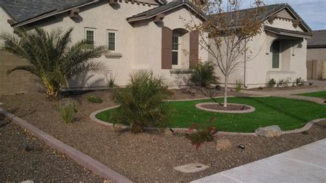 arizona front yard landscape design