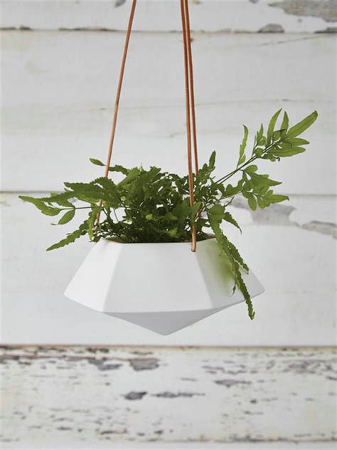 Hanging Planters Uk by Geometric Hanging Planter Medium Nordic House