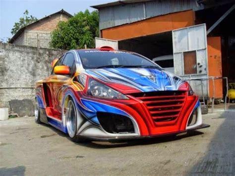 modifikasi mobil sedan sport corona  honda civic ceper