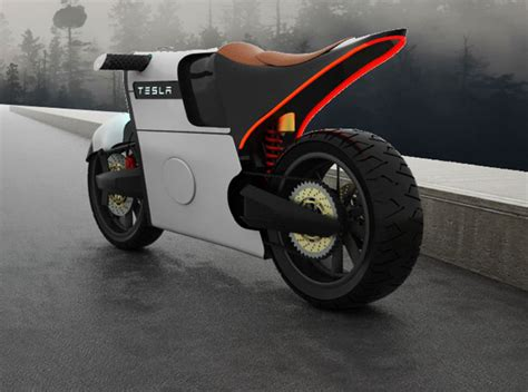 tesla concept motorcycle tesla e bike an electric motorcycle design for