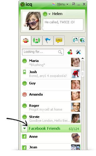 icqchat room icq 7 7 top features