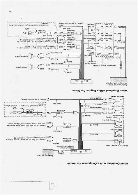 Pioneer Car Stereo Wiring Diagram Free   Free Wiring Diagram