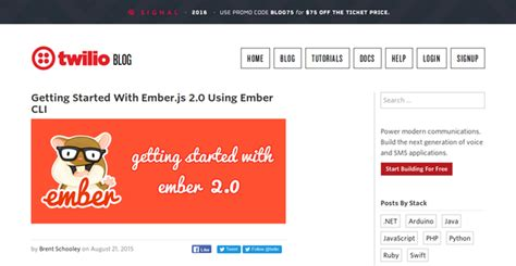 firebase ember tutorial 15 emberjs tutorials for building awesome web applications