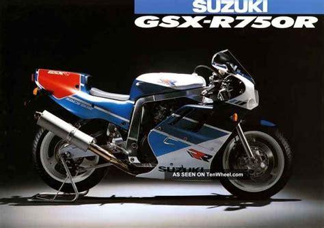 89 Suzuki Gsxr 750 1989 Suzuki Gsxr 750 Rr Rk R Limited Edition