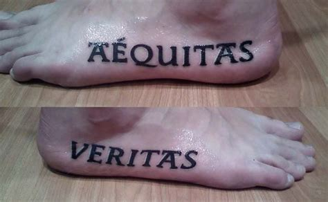 latin tattoo boondock saints gorgeous pairs of artistic aequitas veritas tattoo on