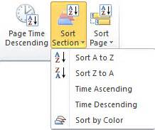 onenote sort sections sort sections and pages in onenote office onenote gem