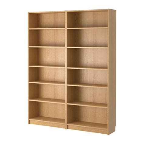 billy bookcase oak ikea