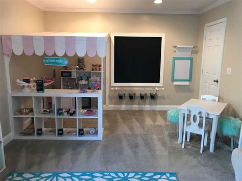 play kitchen ideas playroom ideas cafe kitchen play area