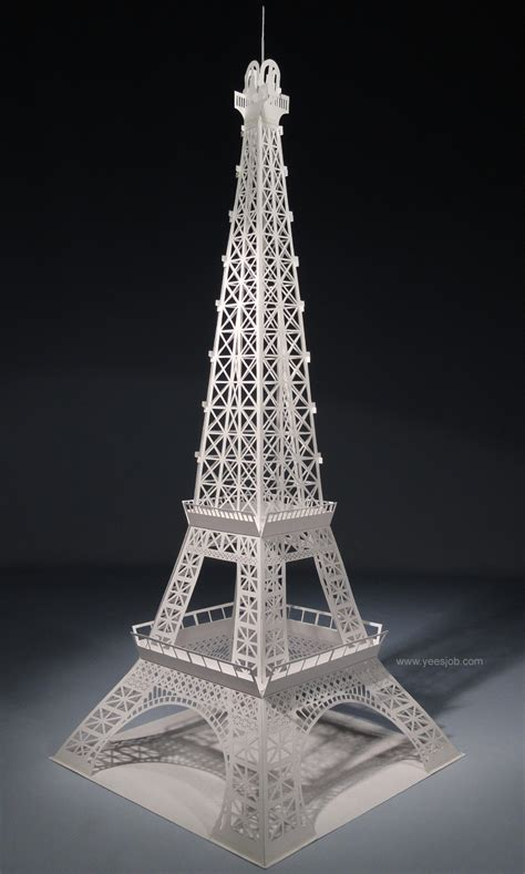 Origami Eiffel Tower - the kingdom of origami architecture eiffel tower origami
