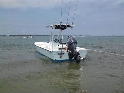 skiff jack boat carolina yacht 21 skiff jack plate question pic hvy