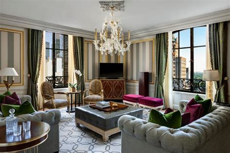 the living room new york restoring vintage glamour to new york city the new st