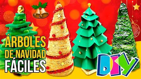 5 arboles de navidad caseros mini manualidades navide 241 os diy para decorar