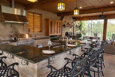 Kitchen Islands Designs With Seating by Swimming Pools Outdoor Living Spaces Outdoor Solutions