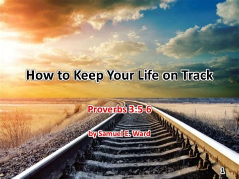 how to your to track how to keep your on track