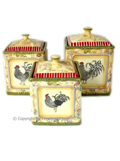 rooster kitchen canisters to purchase bing images rooster kitchen canisters to purchase bing images