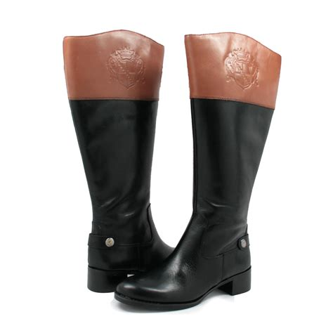 wide calf boots for franco sarto s chip wide calf boots black