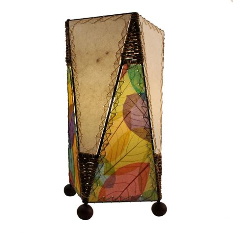 eangee home design fossilized multicolor banyan leaf and