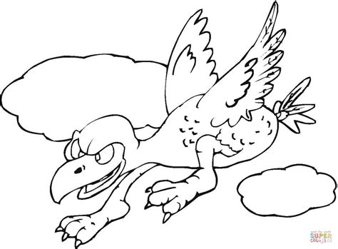 buzzard cartoon coloring pages sketch coloring page