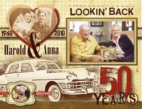 Golden Wedding Album Layout by Best 25 Anniversary Scrapbook Ideas On Diy